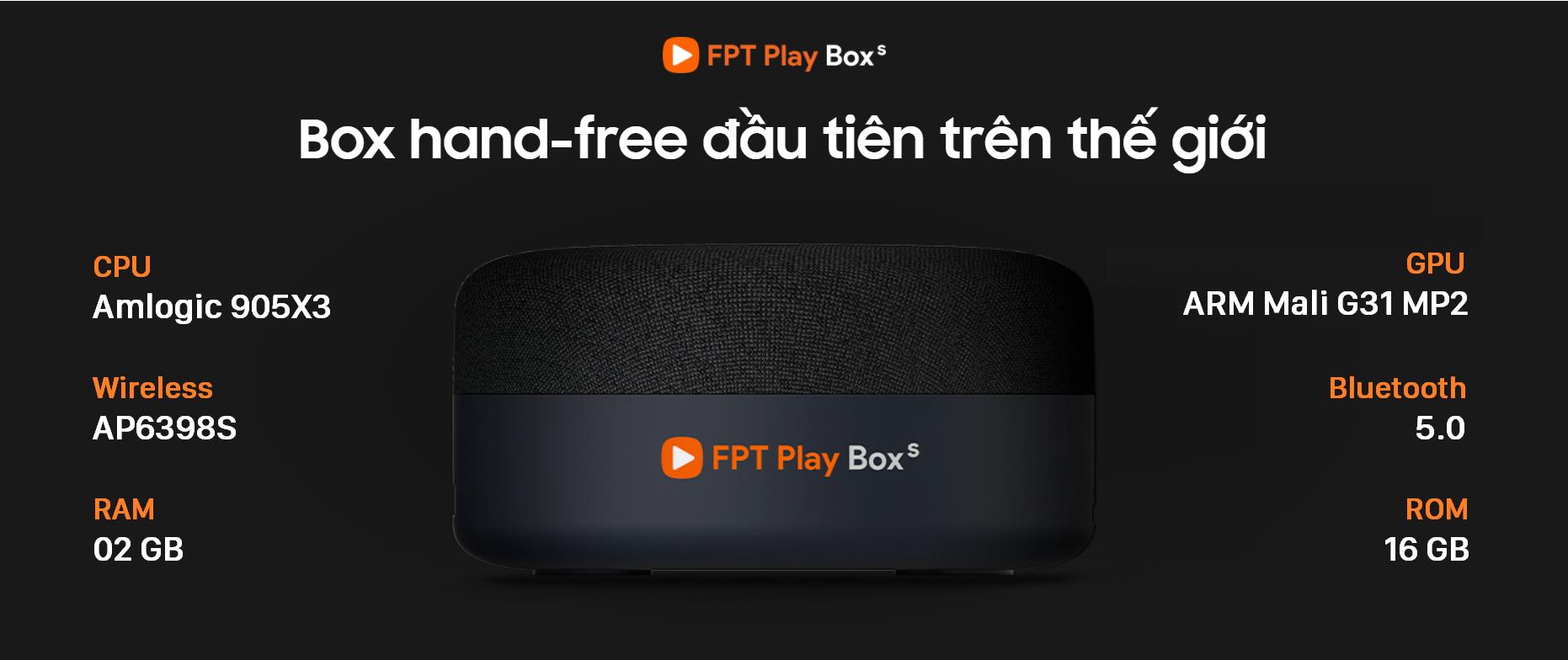 Thông số kỹ thuật của FPT Play BOX S mới nhất 2021