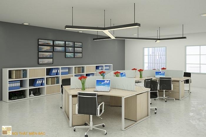 Sử dụng nội thất hợp lý khi thiết kế văn phòng