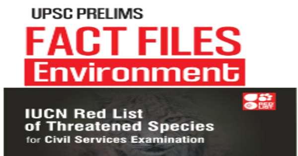 GS Score Environment Fact Files for Prelims PDF Download