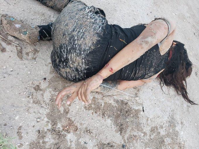 FOTOS: Dos sicarios del CDG mueren tras caer a un canal durante persecución; rescatan a una joven 1