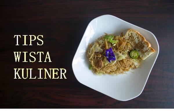 tips wisata kuliner