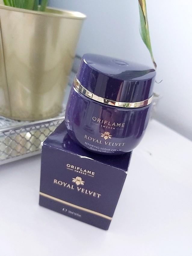 oriflame royal velvet night cream
