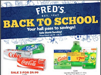 Fred's Ad Preview July 14 - 27, 2019 and Fred's Ad 7/28/19