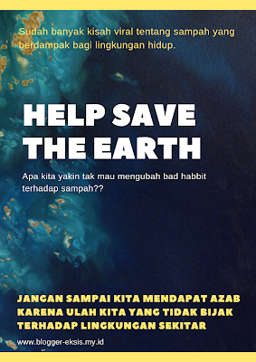 jaga bumi dari sampah