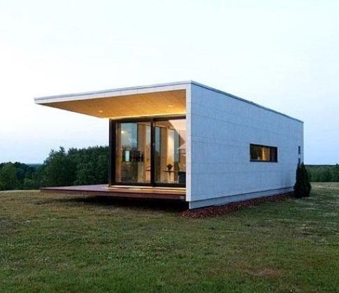 rumah minimalis sederhana ukuran kecil nan indah karena bentuk