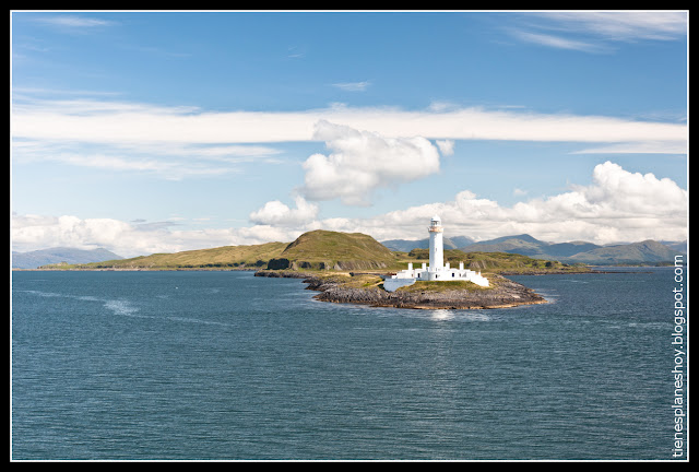 Paisaje camino Isla de Mull