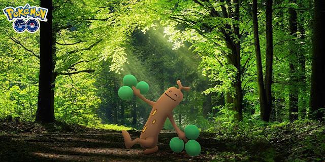 Pokémon Go: Evento Pokémon Brincalhões