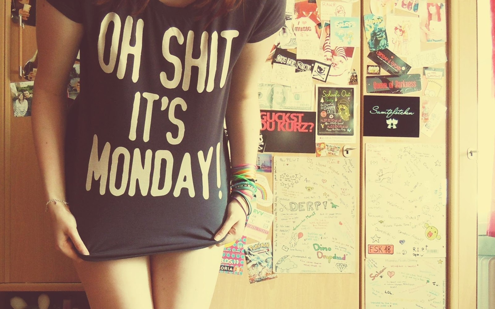 Funny T-Shirt | Monday Quotes | Funny Monday Quotes | [HNQuotes] Wallpaper
