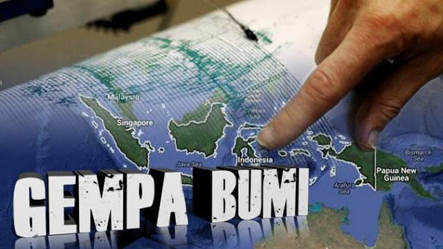 BMKG: Lutim Empat Kali Gempa Bumi, Warga Diminta Tetap Tenang