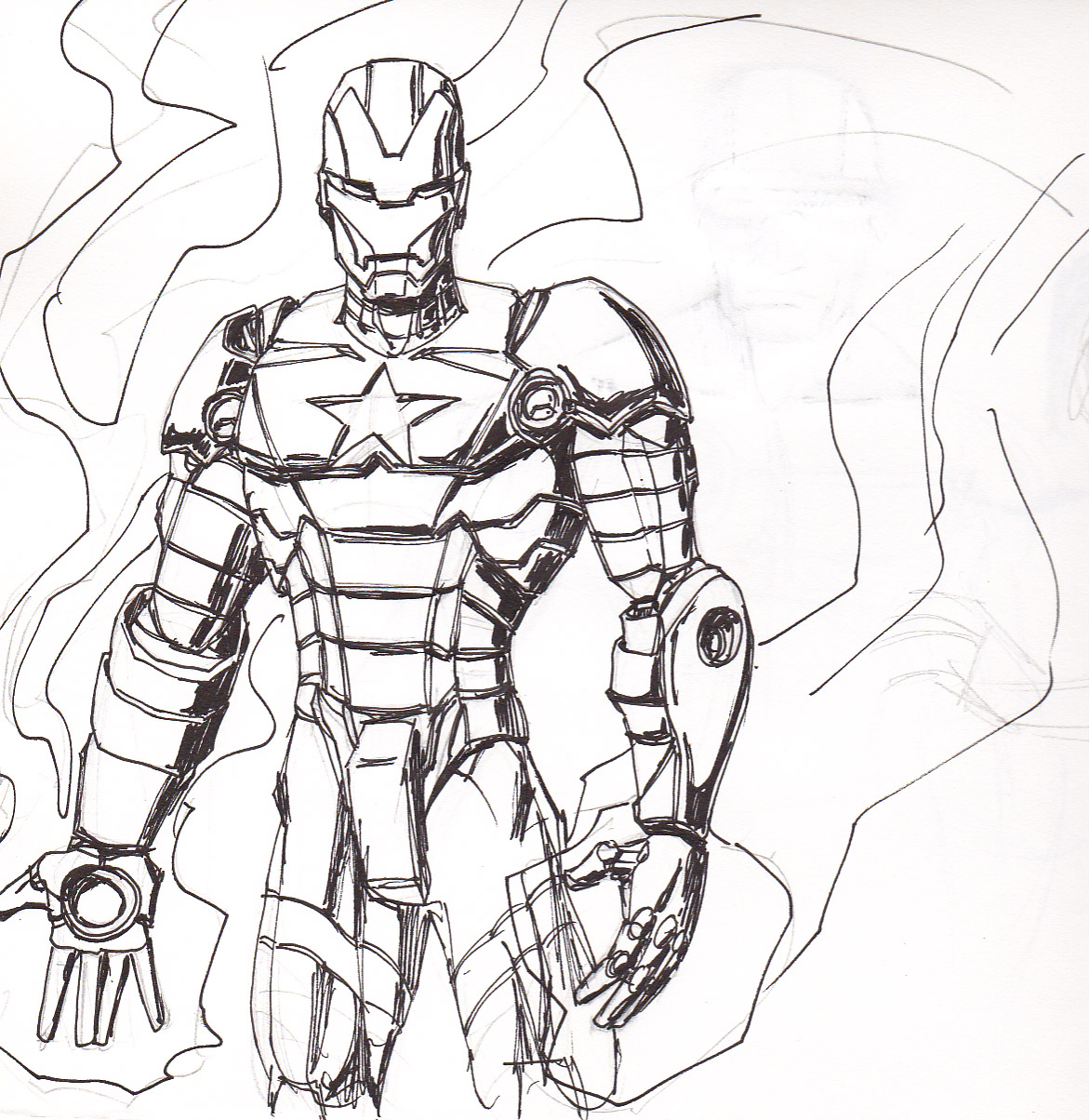 how to draw iron patriot saveenlarge free iron patriot coloring pages