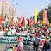 किसानों ने निकाली ऐतिहासिक रैली, विपक्ष ने दिया सरकार को अल्टीमेटम   Farmers take out the historic rally, Opposition gives government ultimatum