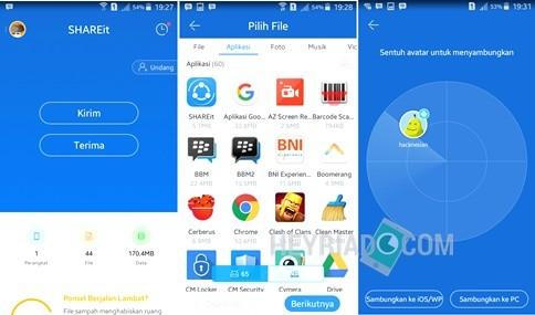 Aplikasi Pengirim File Tercepat Di Android