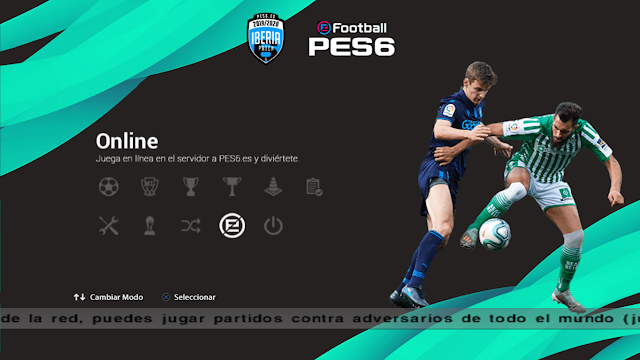 PES6 Iberia Patch v6.0 by Castolo & VillaPilla