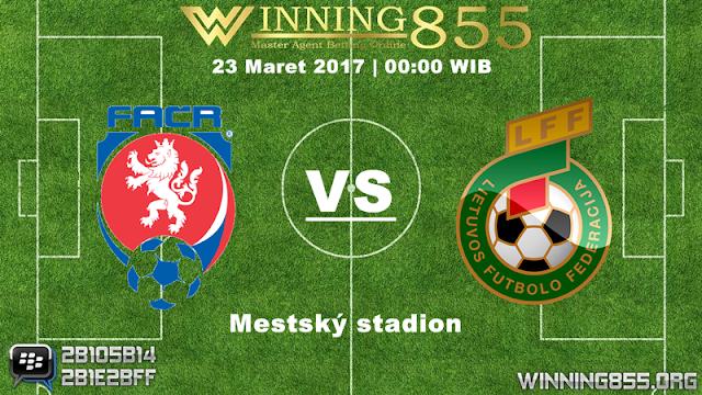 Prediksi Skor Republik Ceko vs Lithuania 23 Maret 2017