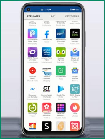 تثبيت التطبيقات 1 Huawei AppSeeken