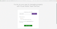 6.Visual Studio Team Services-Create your Site