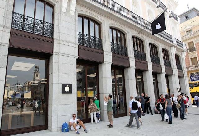 Lojas Apple em Madri