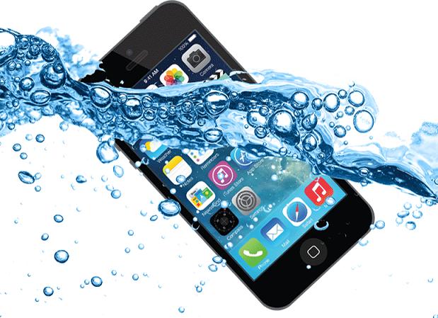 كيفيه نظافه الايفون من المياه