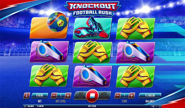 Main Gratis Slot Indonesia - Knockout Football Rush Habanero