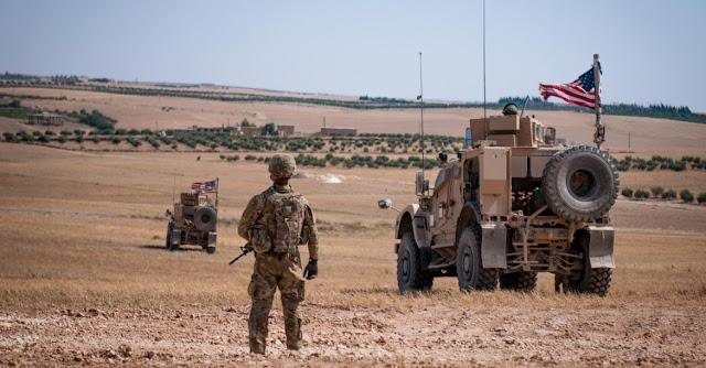 Konvoi kendaraan militer AS