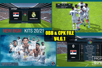 PATCH PES 2020 REAL MADRID | IDSPHONE PATCH V4.6.1