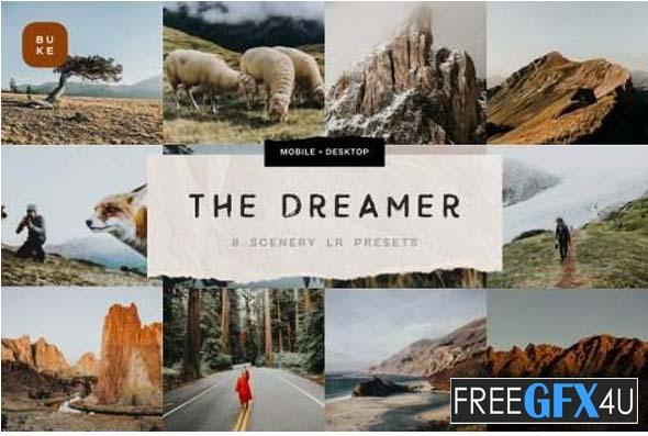 The Dreamer – 8 Lightroom Presets