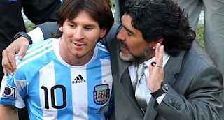 How I Taught Messi How To Play Free-Kick – Maradona