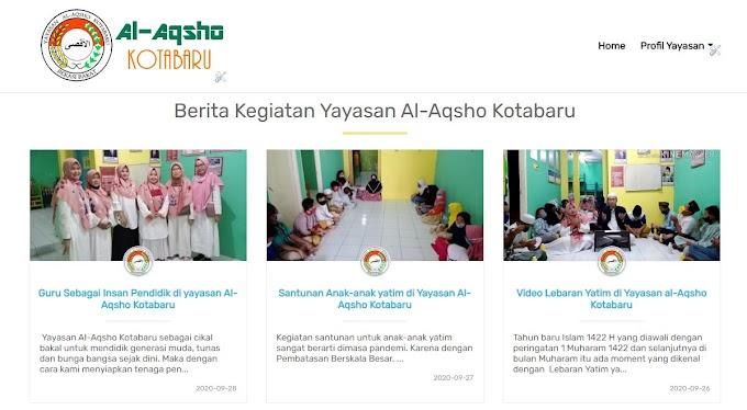 Yayasan Al-Aqsho Kotabaru ganti  Template Blogger
