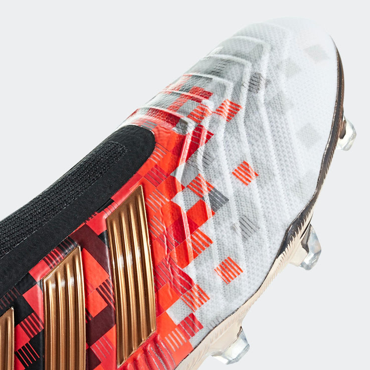 wholesale dealer 59511 6efb4 Adidas have unveiled a stunning new limited-edition Predator 18+ football  boot for the World Cup, styled with the design found on the ball that will  be used ...