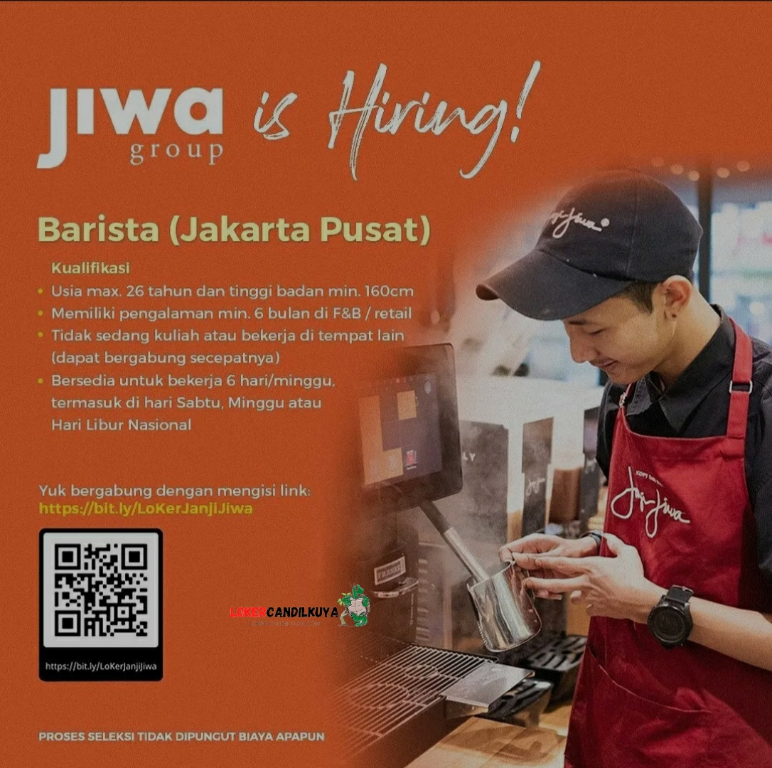 Lowongan Kerja Janji Jiwa Jakarta Pusat