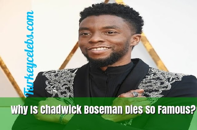 Why Is Chadwick Boseman Dies So Famous?