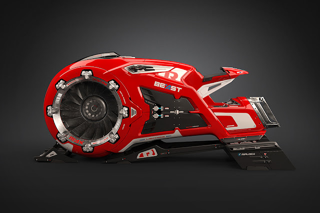 The Beast Hoverbike - Rico Kersten