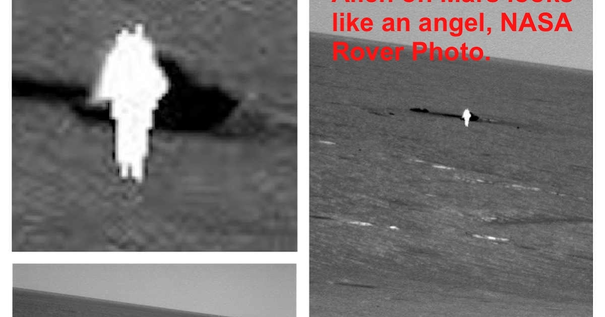 UFO SIGHTINGS DAILY: Angel-Like Alien On Mars In NASA Rover Photo, March 2013. Video, UFO Sighting News.