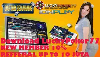 Download LuckyPoker77