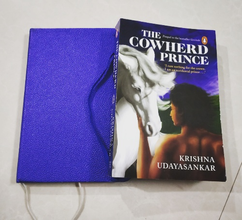 The Cowherd Prince by Krishna Udayasankar