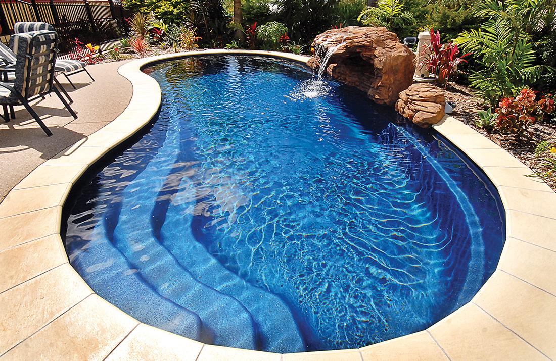 Falcon piscinas for Estilo de piscina