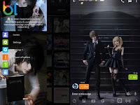 BBM MOD Death Note Cosplay | BBM Whatsapp Mod v2.13.1.14 Terbaru