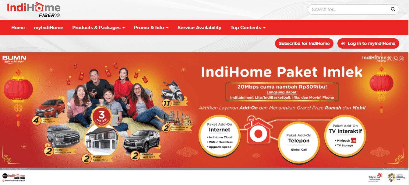 Harga Paket Internet Indihome Fiber & Speedy Terbaru 2018