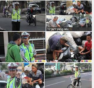 Bripka Seladi Polisi Tukang Rosok Sampah Malang