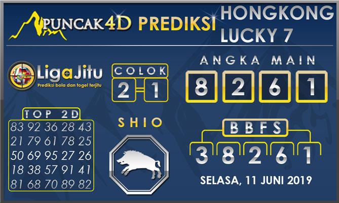 PREDIKSI TOGEL HONGKONG LUCKY7 PUNCAK4D 11 JUNI 2019