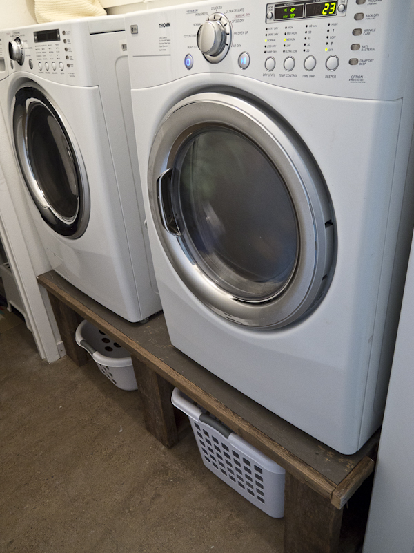 Laundry Room Light Fixture Washer And Dryer