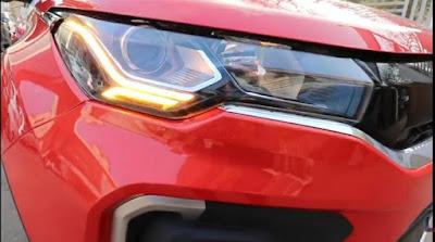 Tata Nexon Facelift headlight