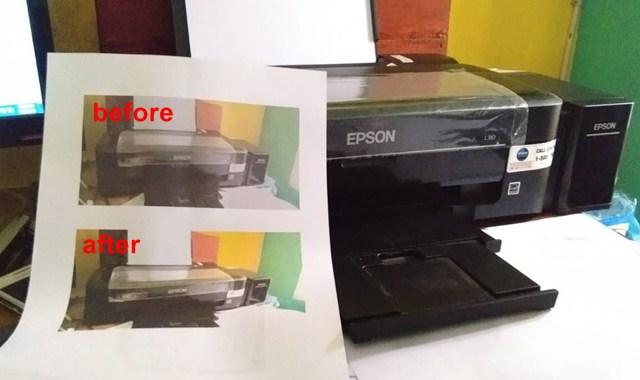 Cara Memperjelas Hasil Print di Printer Epson