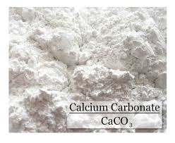 Calcium carbonate occurs as an odorless and tasteless white powder or crystals.