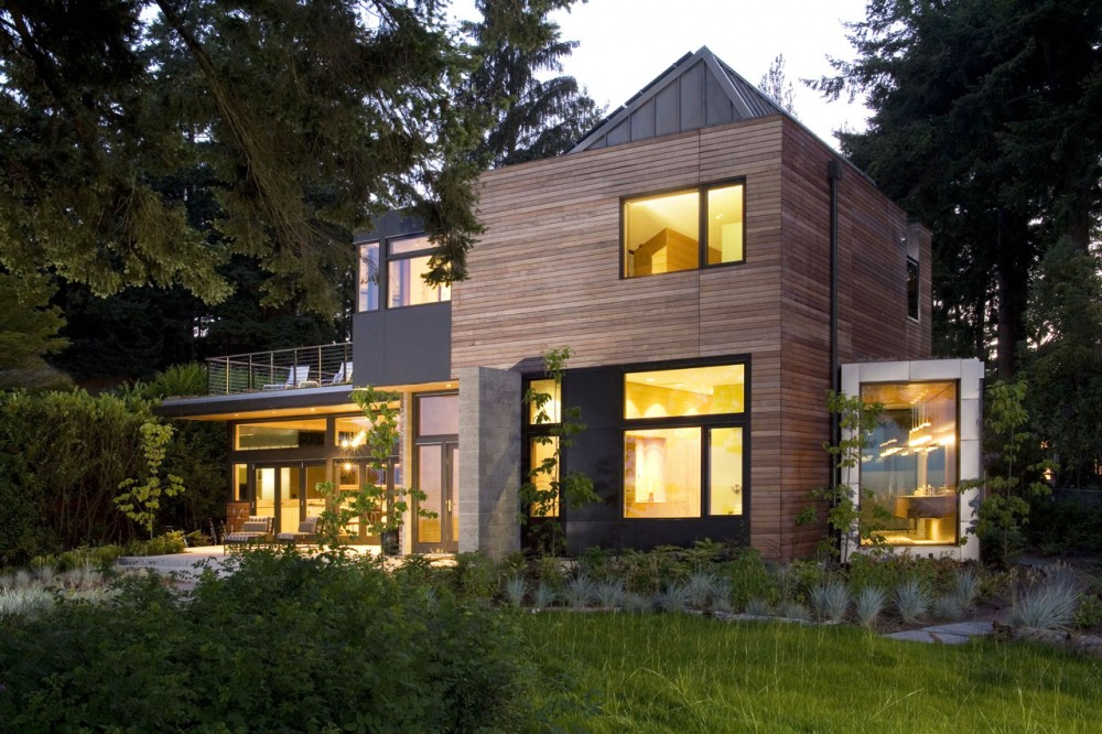 Design Of The Leed Platinum Sustainable Home Washington Usa Involve Photovoltaic Geothermal Advanced Heat Recovery Solar Hot Water And Rain