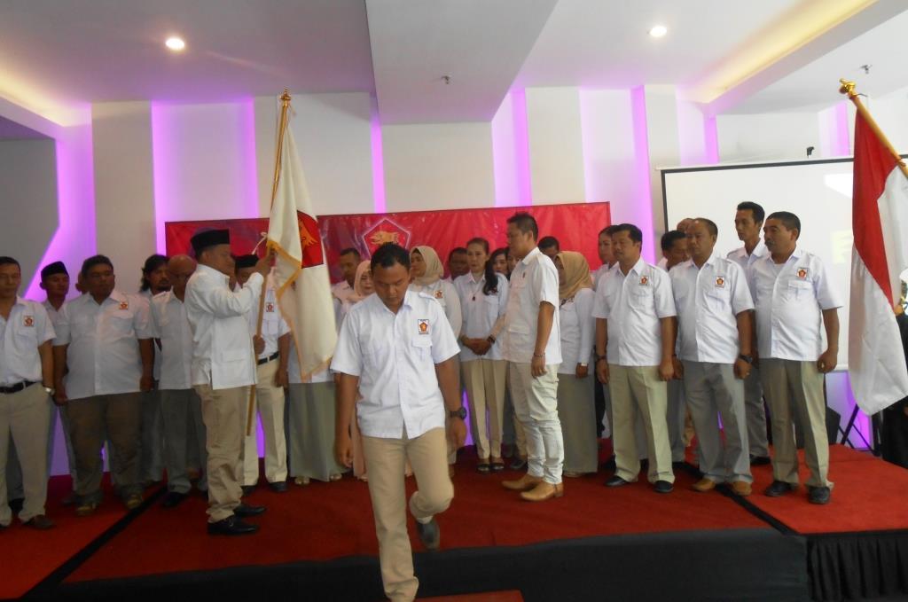 Imron Mujahid Resmi Jadi Ketua Partai Gerindra Subang