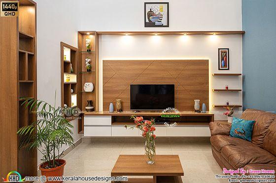Living room interior photograph
