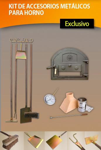 Recetas f ciles de josean mg materiales para el horno - Hornos de lena planos ...