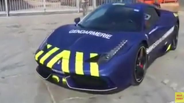 Gendarmerie St Tropez Ferrari