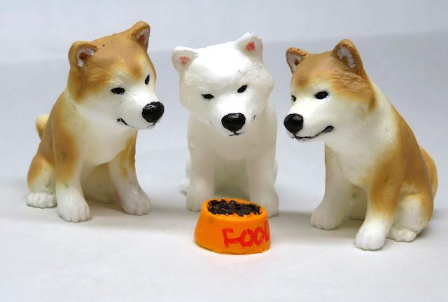 秋田犬、立体イラスト、フィギュア作家、伝 陽一郎、犬、イラスト制作